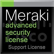 Meraki MX65 Advanced Security License and Support, 1 Year, Electronic Delivery