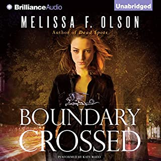 Boundary Crossed     An Old World Novel, Book 1              By:                                                                                                                                 Melissa F. Olson                               Narrated by:                                                                                                                                 Kate Rudd                      Length: 9 hrs and 19 mins     154 ratings     Overall 4.6