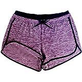 Women Shorts JJLOVER Solid Running Yoga Sport Hot Shorts Elastic Waist Summer Casual Fashion Short Pants