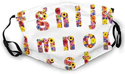 plonpl 2pcs African American King/&Queen Face/_Cover Adults Washable Prints Face/_Cover
