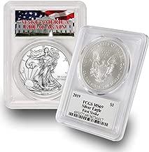 2019 American Silver Eagle $1 MS69 First Strike PCGS Make America Great Again (MAGA) .999 Fine Silver US Mint