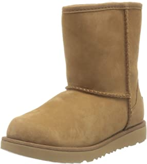 UGG Classic Weather Short, Botte à Enfiler Mixte Enfant