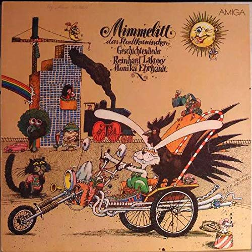 Reinhard Lakomy Und Monika Ehrhardt - Mimmelitt, Das Stadtkaninchen - Geschichtenlieder - AMIGA - 8 45 273