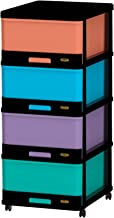 Cosmoplast 4 Drawer Storage Cabinet - Multi color