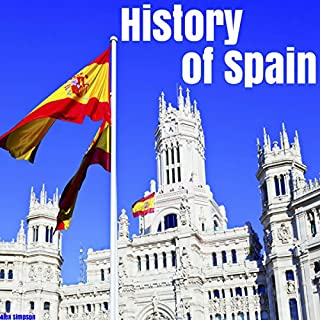 History of Spain audiobook cover art