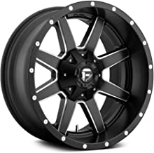 FUEL Maverick NBD-Matte BLK MIL Wheel with Painted (16 x 6.5 inches /6 x 130 mm, 48 mm Offset)