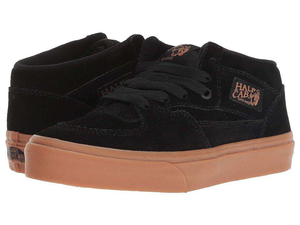 Vans Kids Half Cab (Little Kid/Big Kid) (Black/Gum) Boys Shoes
