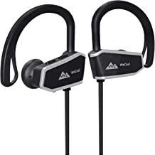 WeCool Bassking In-Ear Waterproof Wireless Bluetooth Headphones with Mic and Carry Case (Black)