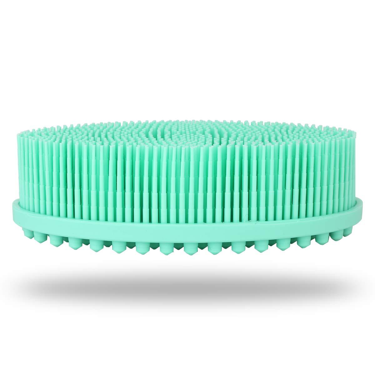 latest Soft Silicone Recommendation Shower Brush Body Wash Loofah Ski Exfoliating Bath