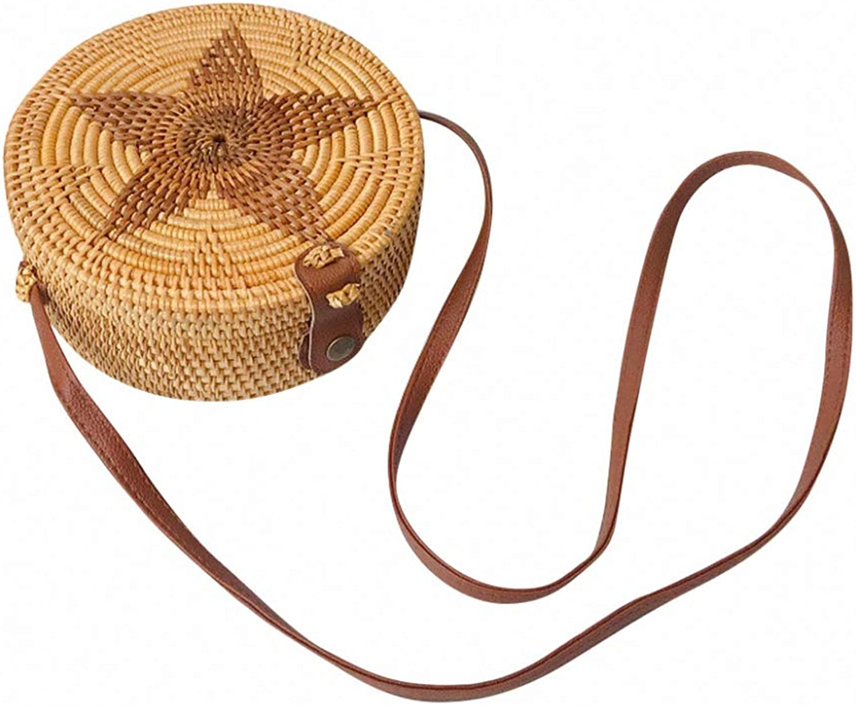 Nyusdar Square Round Mulit Style Straw Bag Handbags Women Summer Rattan Bag Handmade Woven Beach Circle Bohemia Handbag