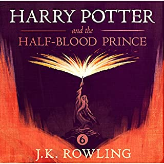 Harry Potter and the Half-Blood Prince, Book 6                   By:                                                                                                                                 J.K. Rowling                               Narrated by:                                                                                                                                 Stephen Fry                      Length: 20 hrs and 57 mins     9,119 ratings     Overall 4.9