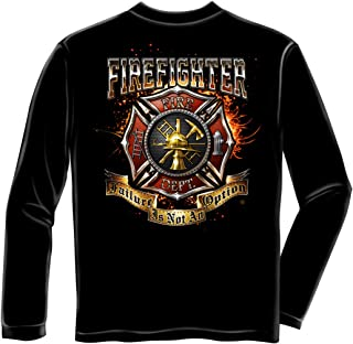 Firefighter Long Sleeves Firefighter Failure is No FF2327LS