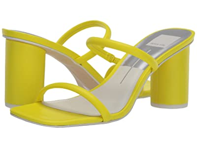 Dolce Vita Noles (Neon Yellow Leather) High Heels