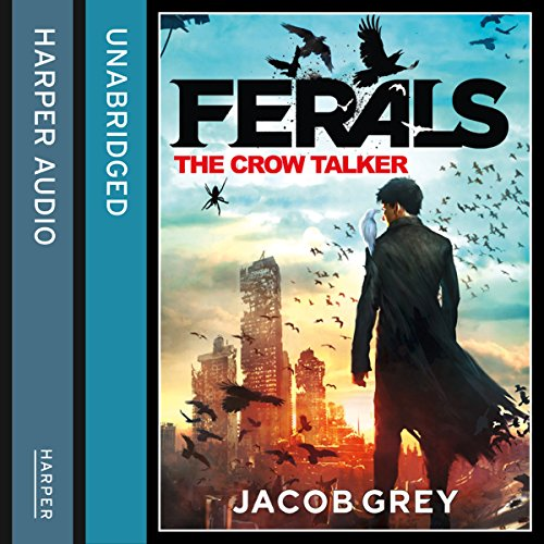 The Crow Talker audiobook cover art