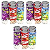 Soda Can Fizzy Candy Value Pack -- 3 Six-Packs (18 Cans Total, Candy Party Favors)