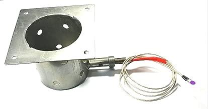 Steel Burn/FIRE Pot+ OEM IGNITER/HOT Rod FITS All TRAEGERS