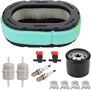 32 083 09-S Air Filter for Kohler 32 883 09-S1 KT610 KT620 KT715 KT725 KT730 KT735 KT740 KT745 19HP-26HP Engine MTD Lawn Mower + 12 050 01-S Oil Filter Tune Up Kit