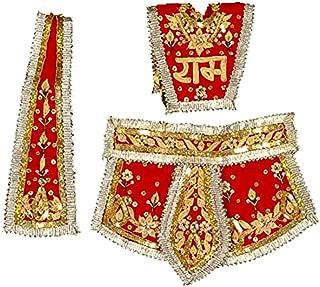UCS UNCOMMON STUFFS Uncommon Stuffs Hanuman Ji Vastra Chola (Dress) - 1 Set