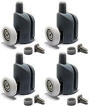 Schuifdeurrol 4 stks-8cs Top & Bottom Douchedeur ROLLEN/Lopers/katrollen/wielen Vervanging onderdelen 23mm25mm diameter Ro...