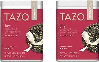 Tazo Joy Full-Leaf Sachets Black Tea 15 ct (Pack of 2)