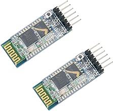 Best HiLetgo 2pcs HC-05 Wireless Bluetooth RF Transceiver Master Slave Integrated Bluetooth Module 6 Pin Wireless Serial Port Communication BT Module for Arduino Review