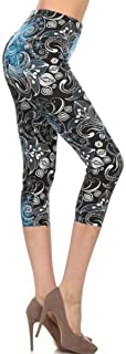 Leggings Depot Capri REG/Plus Women's Buttery Popular...