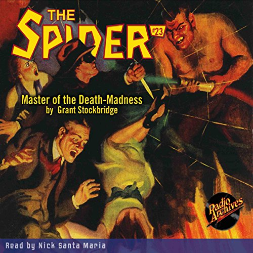 The Spider #23 copertina