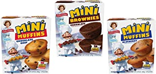 Little Debbie Mini Muffin Bundle - Chocolate Chip, Blueberry, Brownies
