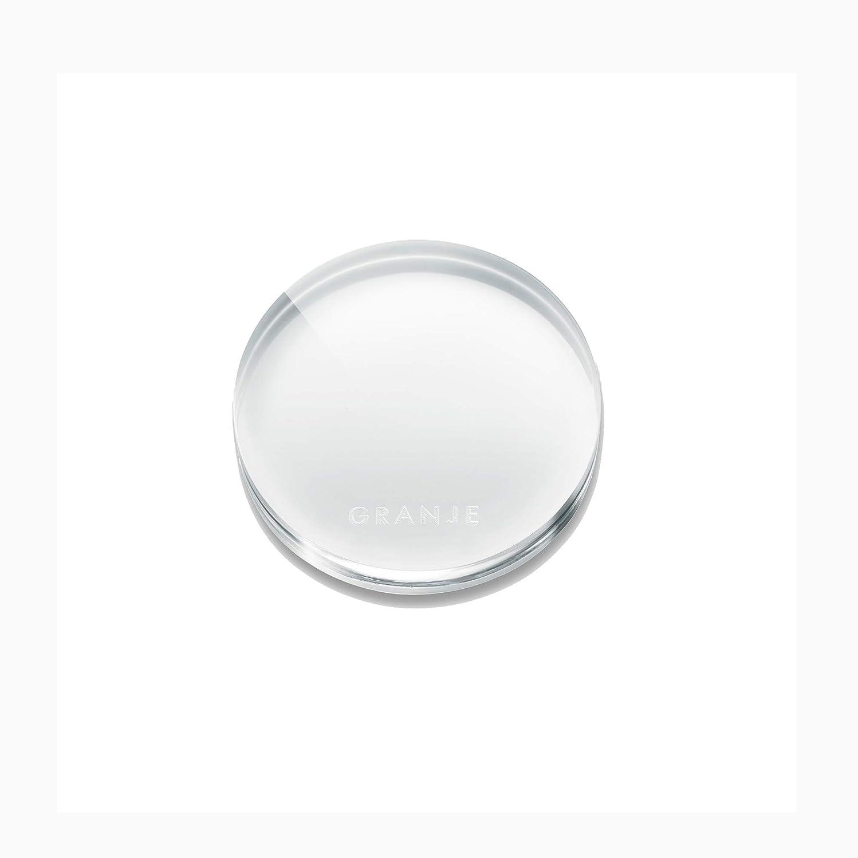 雨の窒素エアコンGRANJE(グランジェ) ACRYLIC PALETTE アクリルパレット [セルフジェルネイル/ネイルツール/ネイルアート]