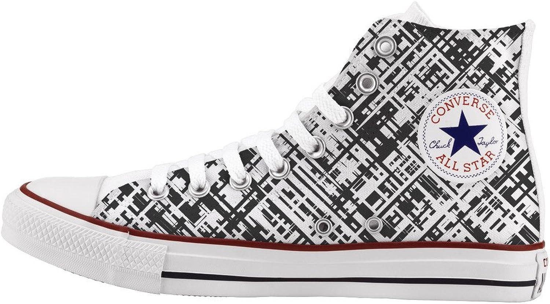 Converse All Star Personnalisé et imprimés - Chaussures à la Main - - Doodle