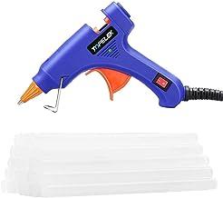 Hot Glue Gun, TOPELEK Mini Heating Hot Melt Glue Gun with 30pcs Melt Glue Sticks, Melting Glue Gun Set for School DIY Arts...