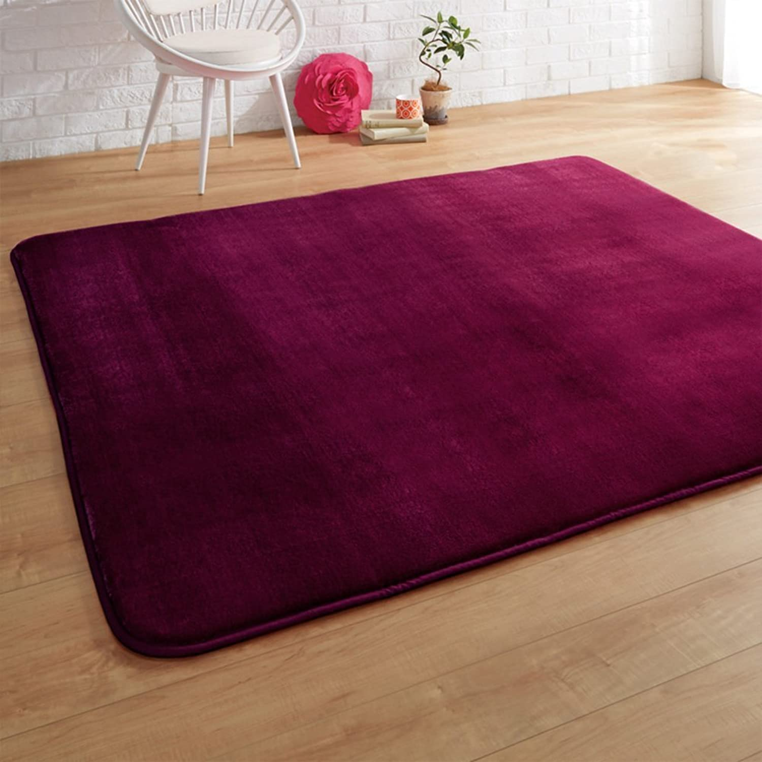 DIDIDD Thick Warm Smooth Door Mats Floor Mat Coffee Table Living Room Bedroom Antilip Door Mats