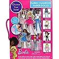 Barbie Fabric Fashion Paper Dolls from Tara Toy