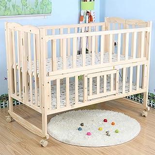 HIZLJJ أسرة الأطفال المحمولة الخشب سرير طفل طفل منزل إطار السرير خيمة السرير السرير السرير المزدوج السرير ، قابل للطي الخش...