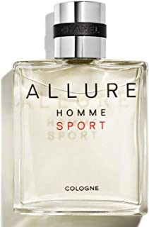 NIB ALLURE HOMME SPORT Cologne Spray, 3.4 oz./ 100 mL + Free sample gift ONLY from Xpressurself