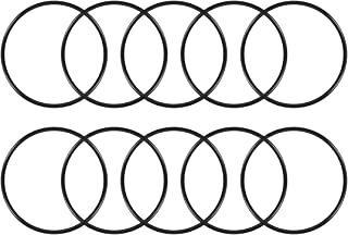 uxcell O-Rings Nitrile Rubber, 102mm Inner Diameter, 110mm OD, 4mm Width, Round Seal Gasket Pack of 10