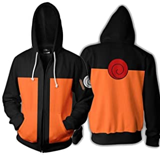 CBSUKJBR Coshome Anime Naruto 3D Hoodies Mannen Vrouwen Sweatshirts Lente Pullover Jacket