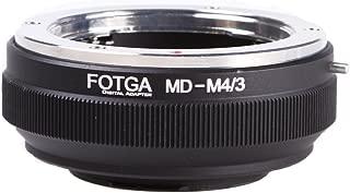 Fotga Lens Mount Adapter for Minolta MD MC Mount Lens to Micro Four Thirds (M4/3 / MFT) Mount Camera Olympus Pen E-PL7/8/9/10 OM-D E-M5 E-M10 Mark II III Panasonic Lumix GH1 GH2 GH3 GH4 GH5 GH5s