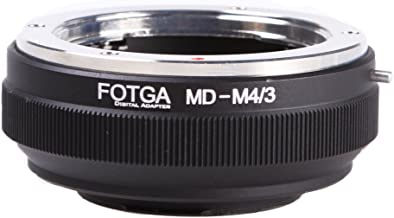 Fotga Lens Mount Adapter for Minolta MD MC Mount Lens to Micro Four Thirds (M4/3 / MFT) Mount Camera Olympus Pen E-PL7/8/9/10 OM-D E-M5 E-M10 Mark II III Panasonic Lumix GH1 GH2 GH3 GH4 GH5 GH5s