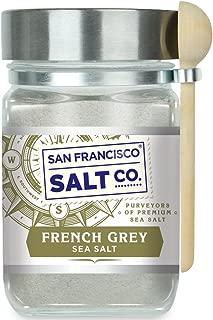 8 oz. Chef's Jar - French Grey Sea Salt - Sel Gris by San Francisco Salt Company
