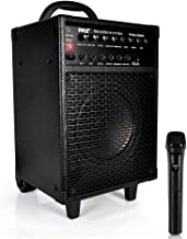 Wireless Portable PA Speaker System – 600W Bluetooth Compatible Rechargeable..