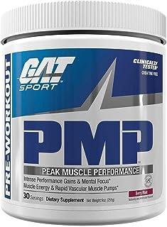 GAT Sport PMP Peak Muscle Performance, Berry Blast, 30 Servings
