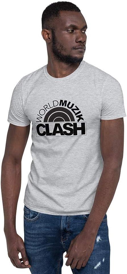 BW World Muzik Clash DJ JnMixel Edition Short-Sleeve Unisex T-Shirt