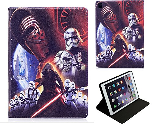 For Apple iPad Mini 1 2 3 4 5 Star Wars Kylo Ren Stormtrooper Jedi Case Cover