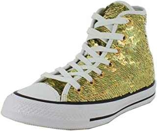 28b97fc473477 Amazon.com: Converse - Gold / Fashion Sneakers / Shoes: Clothing ...