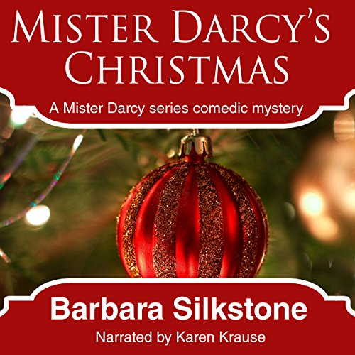 Mister Darcy's Christmas audiobook cover art