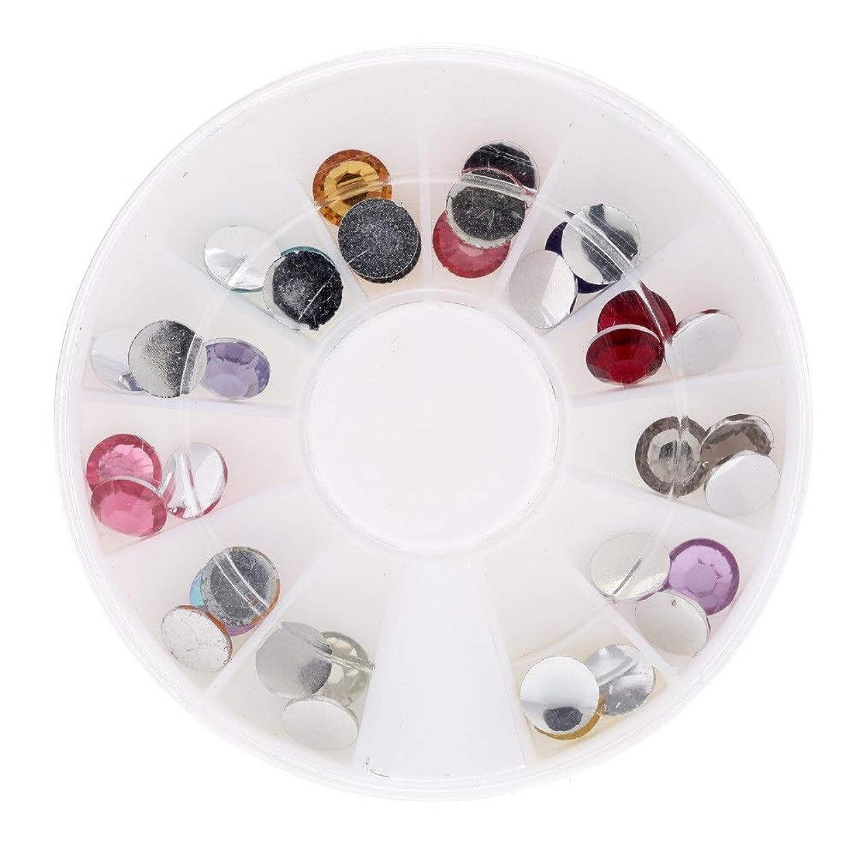 足金額解釈的ネイルパーツ デコパーツ ネイル用ストーン ガラス 製 大容量 DIY ネイルデザイン ミックスパーツ カラフルな宝石 3d キラキラ ハンドメイド材料