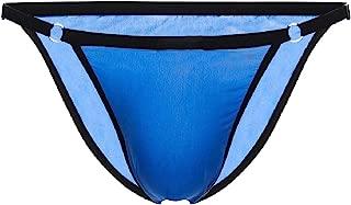 Mens Cotton Briefs Sexy Breathable Bikini G String Ultra Soft Underwear