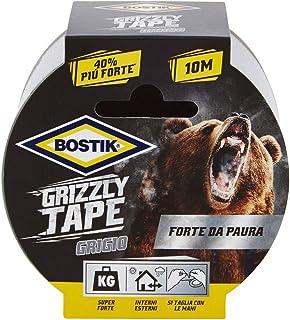 Nastro telato Bostik Grizzly Tape grigio 10mt x 50mm, 10 m