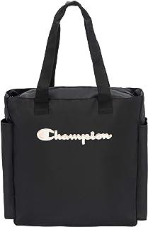 Champion Women's Billboard Tote Bag, Black/Reflective Silver, OS